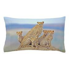 Cheetah Family Pillow Case