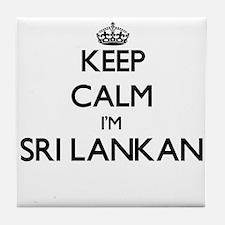 Keep Calm I'm Sri Lankan Tile Coaster