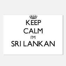 Keep Calm I'm Sri Lankan Postcards (Package of 8)