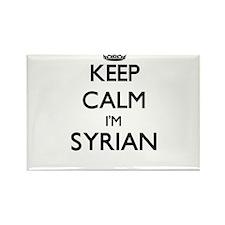 Keep Calm I'm Syrian Magnets