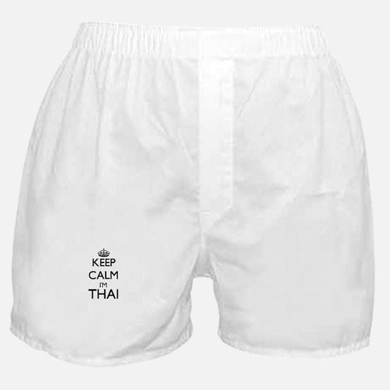 Keep Calm I'm Thai Boxer Shorts