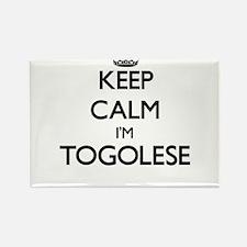 Keep Calm I'm Togolese Magnets