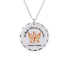 MS Butterfly 6.1 Necklace Circle Charm