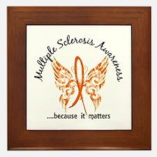 MS Butterfly 6.1 Framed Tile
