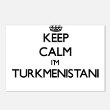 Keep Calm I'm Turkmenista Postcards (Package of 8)