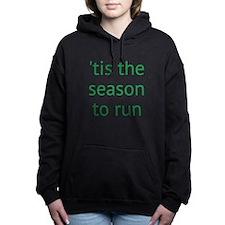 season to run Women's Hooded Sweatshirt