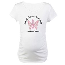 Breast Cancer Butterfly 6.1 Shirt