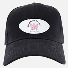 Breast Cancer Butterfly 6.1 Baseball Hat