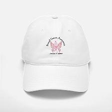 Breast Cancer Butterfly 6.1 Baseball Baseball Cap