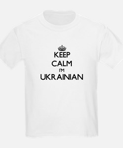 Keep Calm I'm Ukrainian T-Shirt