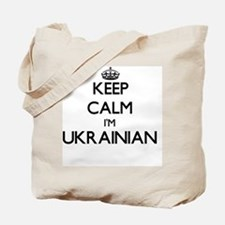 Keep Calm I'm Ukrainian Tote Bag