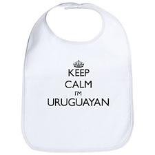 Keep Calm I'm Uruguayan Bib