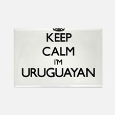 Keep Calm I'm Uruguayan Magnets