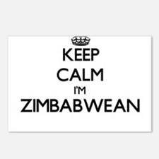 Keep Calm I'm Zimbabwean Postcards (Package of 8)