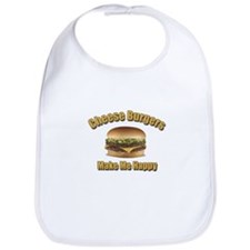 Cheese Burgers Design 1b Bib