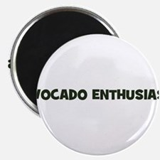 "avocado enthusiast 2.25"" Magnet (100 pack)"