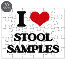 I love Stool Samples Puzzle