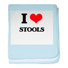 I love Stools baby blanket