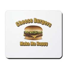 Cheese Burgers Design 1b Mousepad