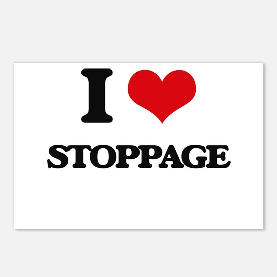 I love Stoppage Postcards (Package of 8)