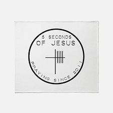 5 Seconds Of Jesus Throw Blanket