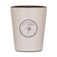5 Seconds Of Jesus Shot Glass