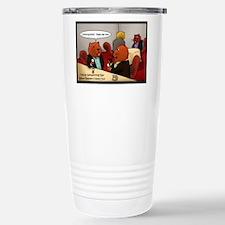 How Beavers Network Travel Mug