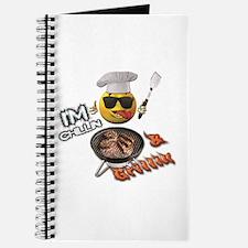 Chillin & Grillin Design 1 Journal