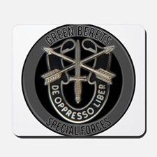 Special Forces Green Berets Mousepad
