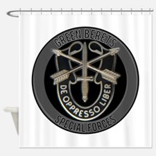 Special Forces Green Berets Shower Curtain