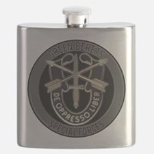 Special Forces Green Berets Flask