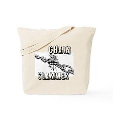 Chain Slammer Tote Bag