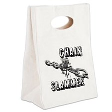 Chain Slammer Canvas Lunch Tote