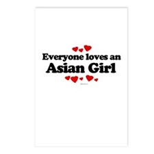 Everyone loves an Asian girl Postcards (Package of