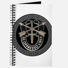 Special Forces Green Berets Journal
