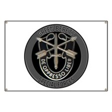 Special Forces Green Berets Banner