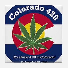 Colorado 420 Tile Coaster