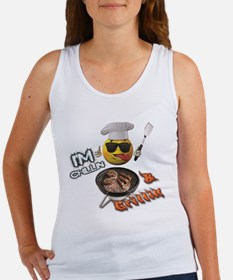 Chillin & Grillin Design 1 Tank Top