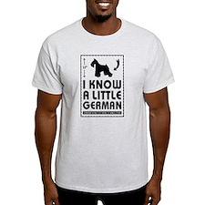 Unique Schnauzer dog T-Shirt