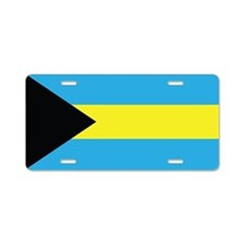 The Bahamas Flag Aluminum License Plate