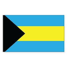The Bahamas Flag Decal