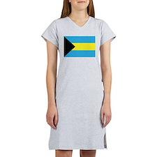 The Bahamas Flag Women's Nightshirt