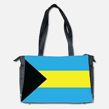 The Bahamas Flag Diaper Bag