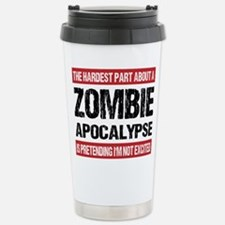 Unique Zombie Stainless Steel Travel Mug