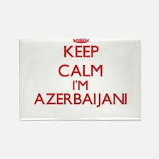 Keep Calm I'm Azerbaijani Magnets