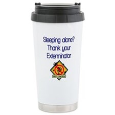Cute Bed bugs Travel Mug