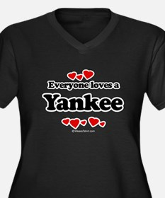 Everyone loves a Yankee Women's Plus Size V-Neck D