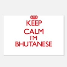 Keep Calm I'm Bhutanese Postcards (Package of 8)