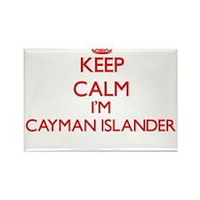 Keep Calm I'm Cayman Islander Magnets
