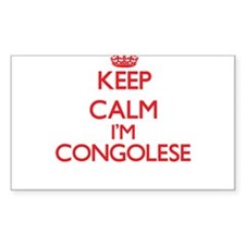 Keep Calm I'm Congolese Decal